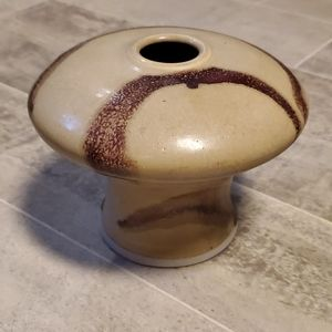 Handcrafted Mid Century Modern Pottery Vase
